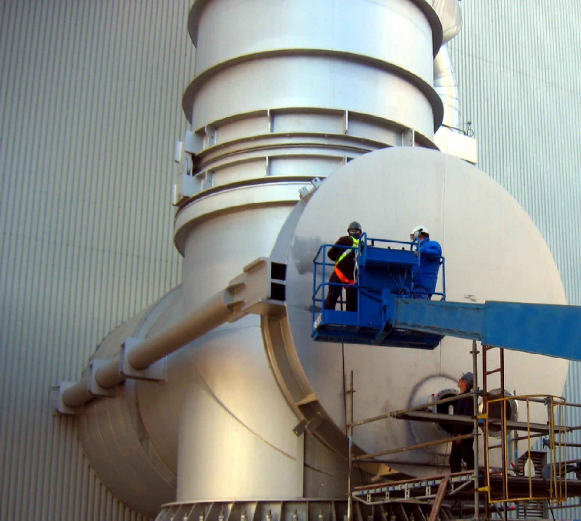 Presure Balanced MPB-E DN 5000. BASF Tarragona, España