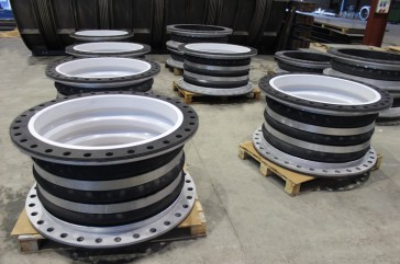 Rubber PTFE lined Expansion Joints