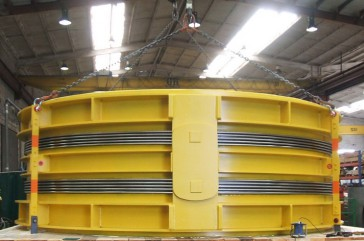 Double Hinged DN 5500 for SIEMENS E-Turbines, Severn Power, UK
