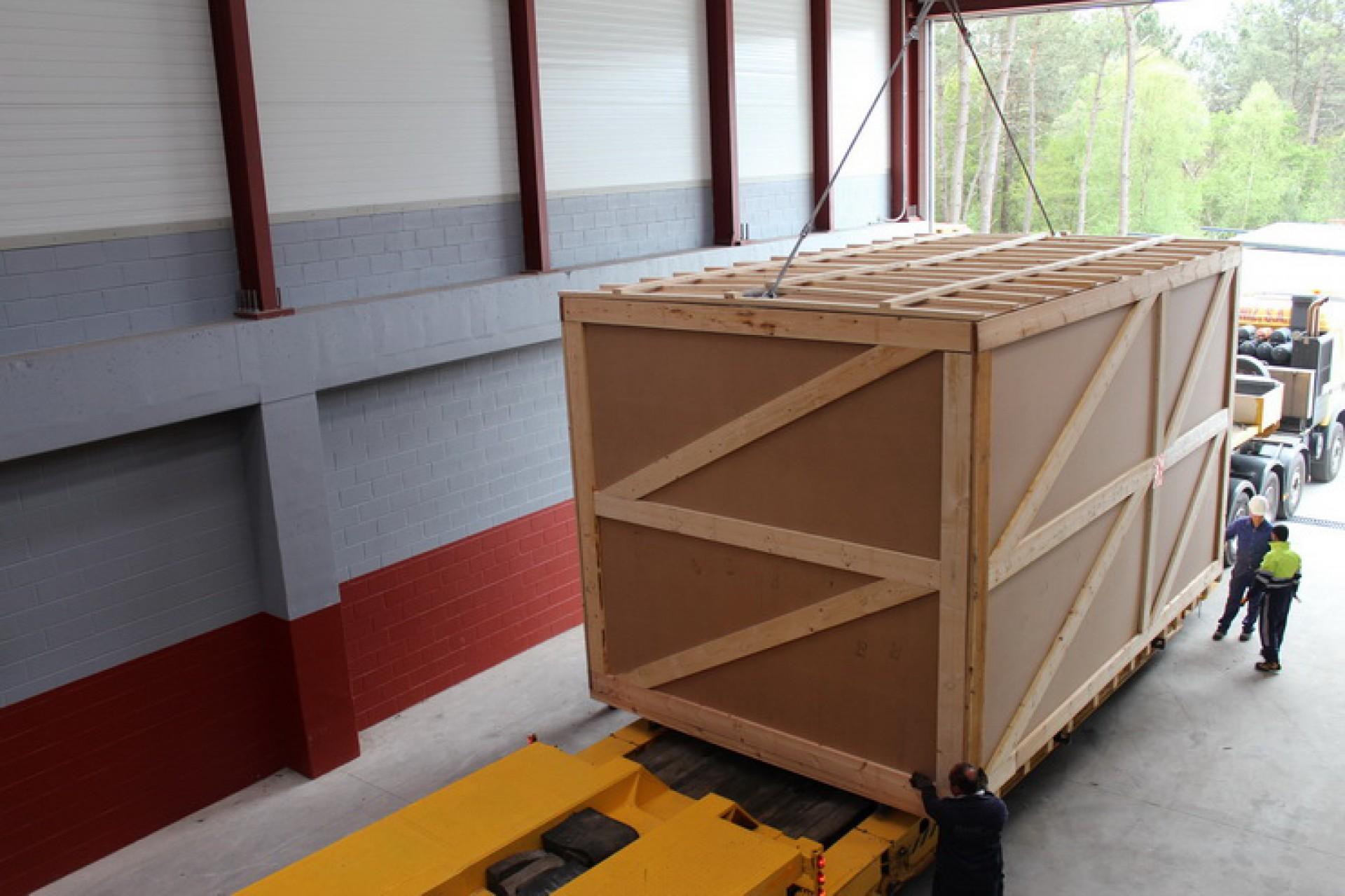 Loading bay – Oversize MWL Expansion Joints – Erbil, Irak