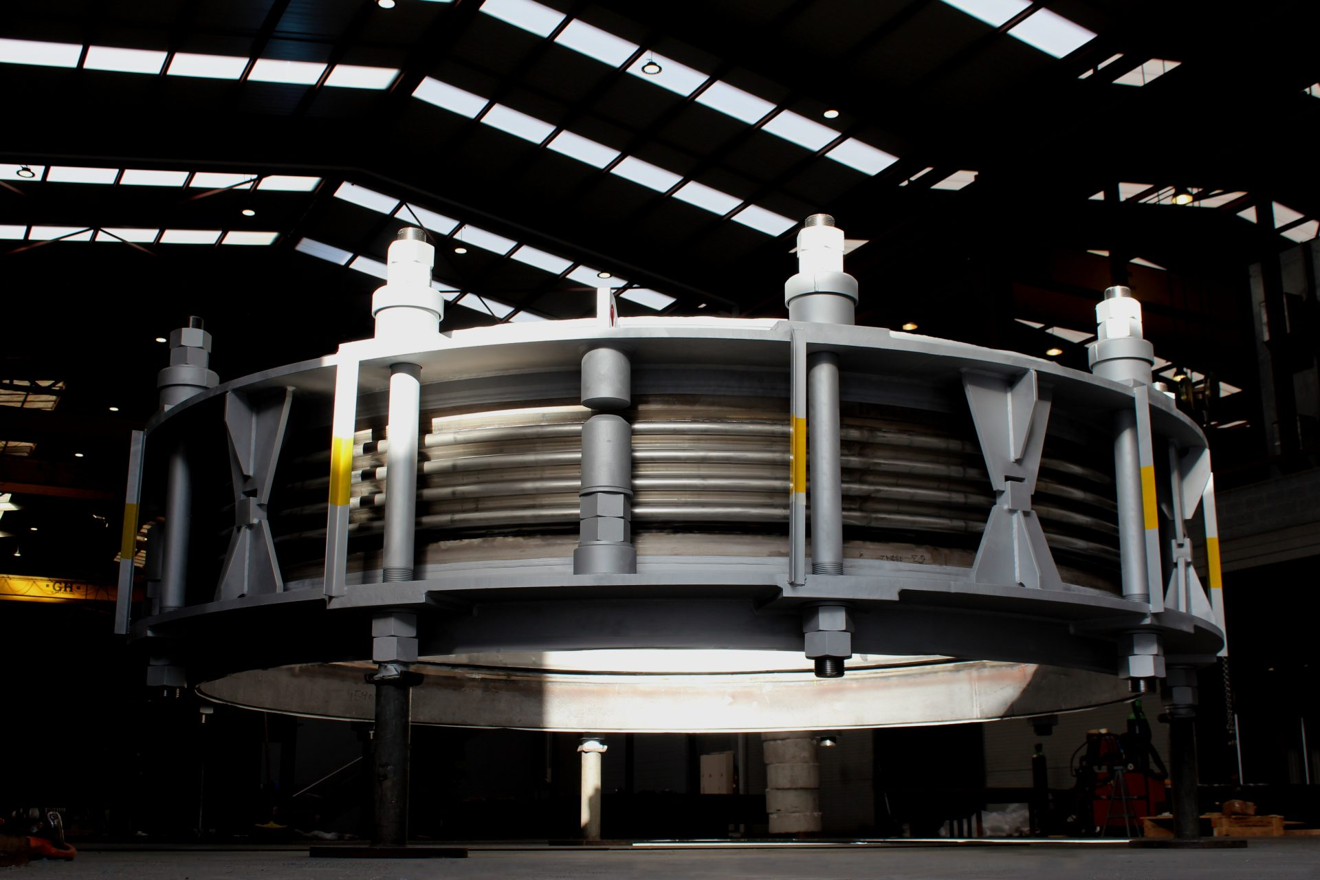 MACOGA supplies DN4200 High Tech Expansion Joint for Steel Plant in the North of Europe