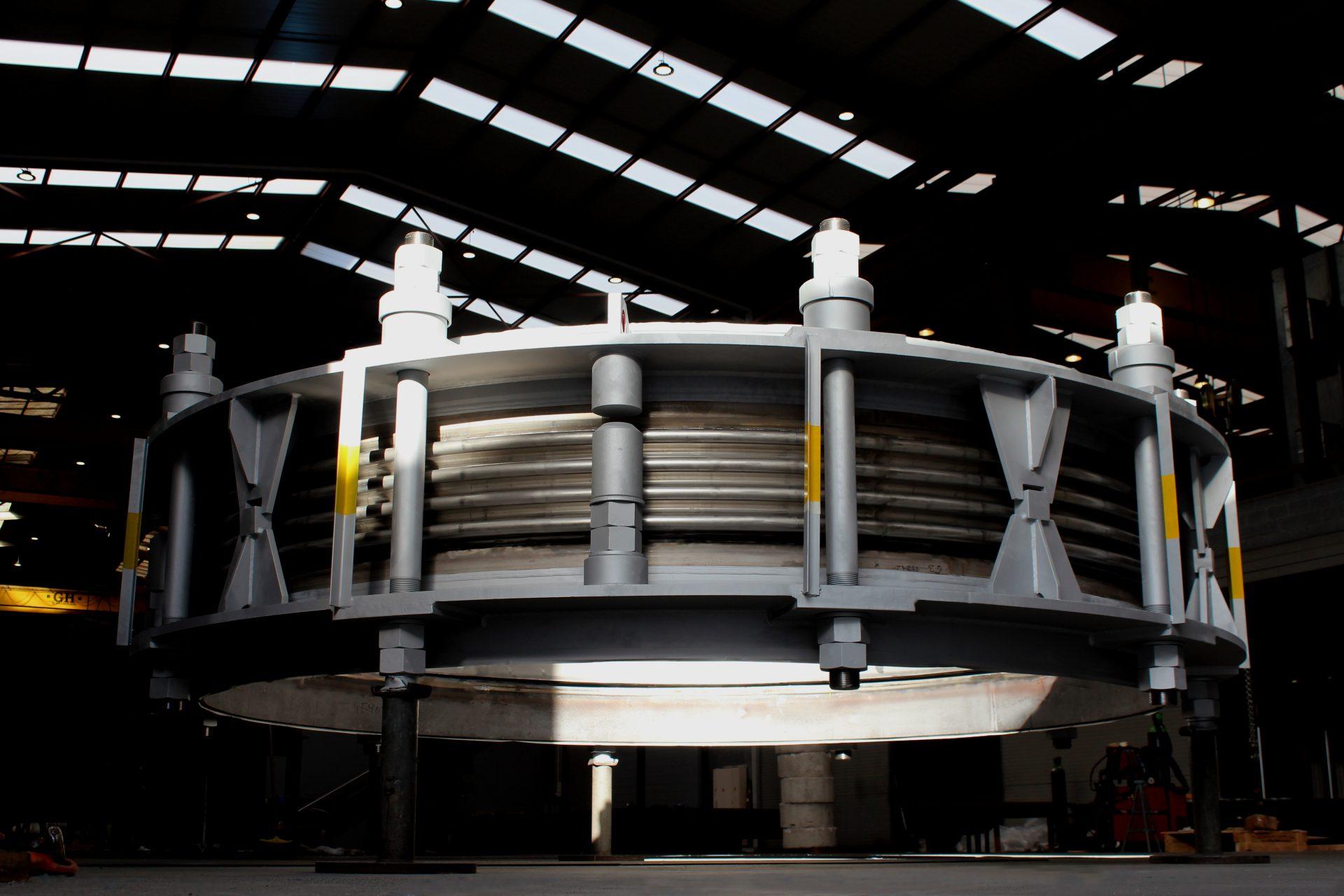 MACOGA provee juntas de expansión DN 4200 de alta tecnología para acería en el norte de Europa