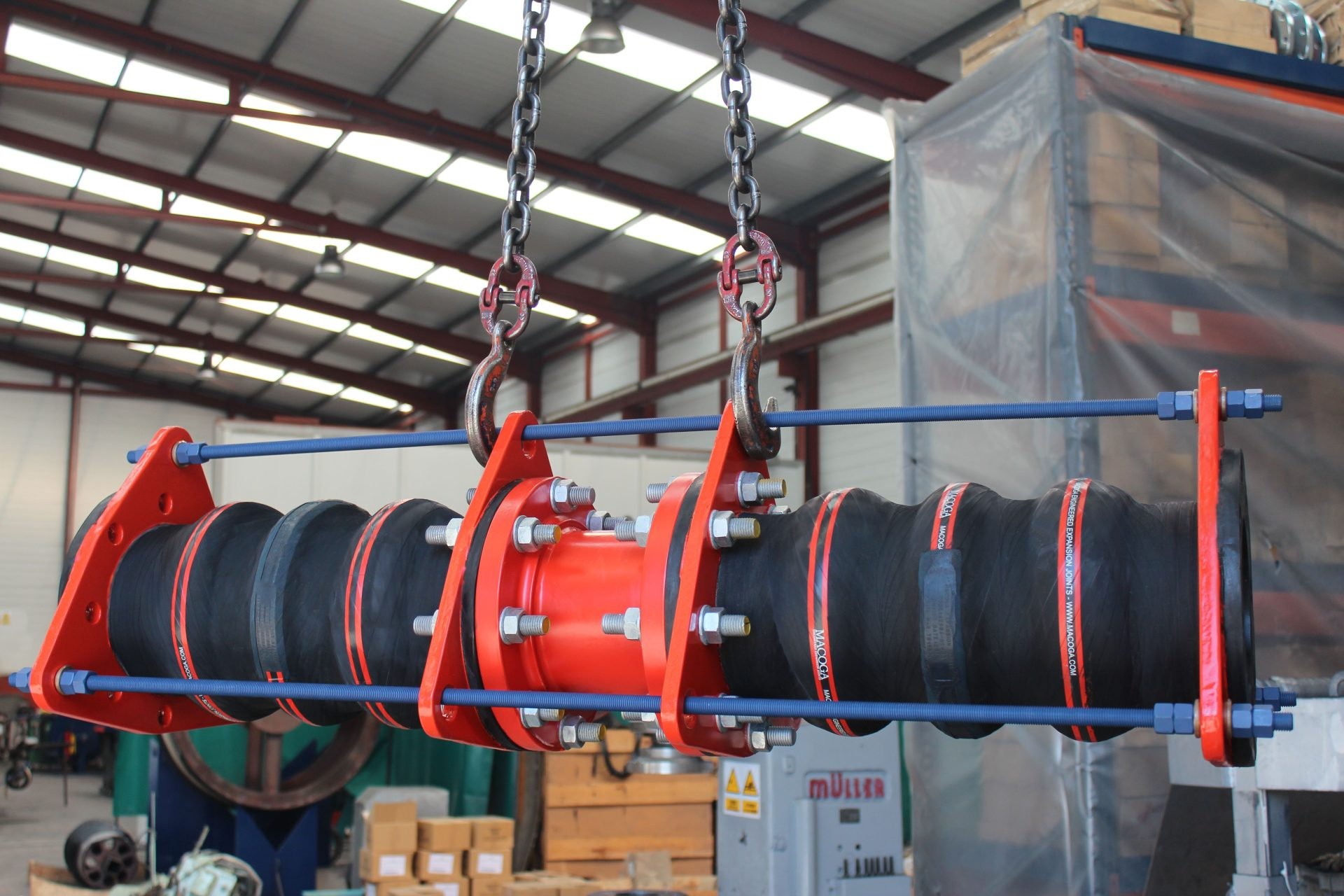 Rubber Expansion Joints for Abu Dhabi National Oil Company, ADNOC