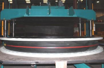 Hydrotesting Rubber MAC-F DN 2600