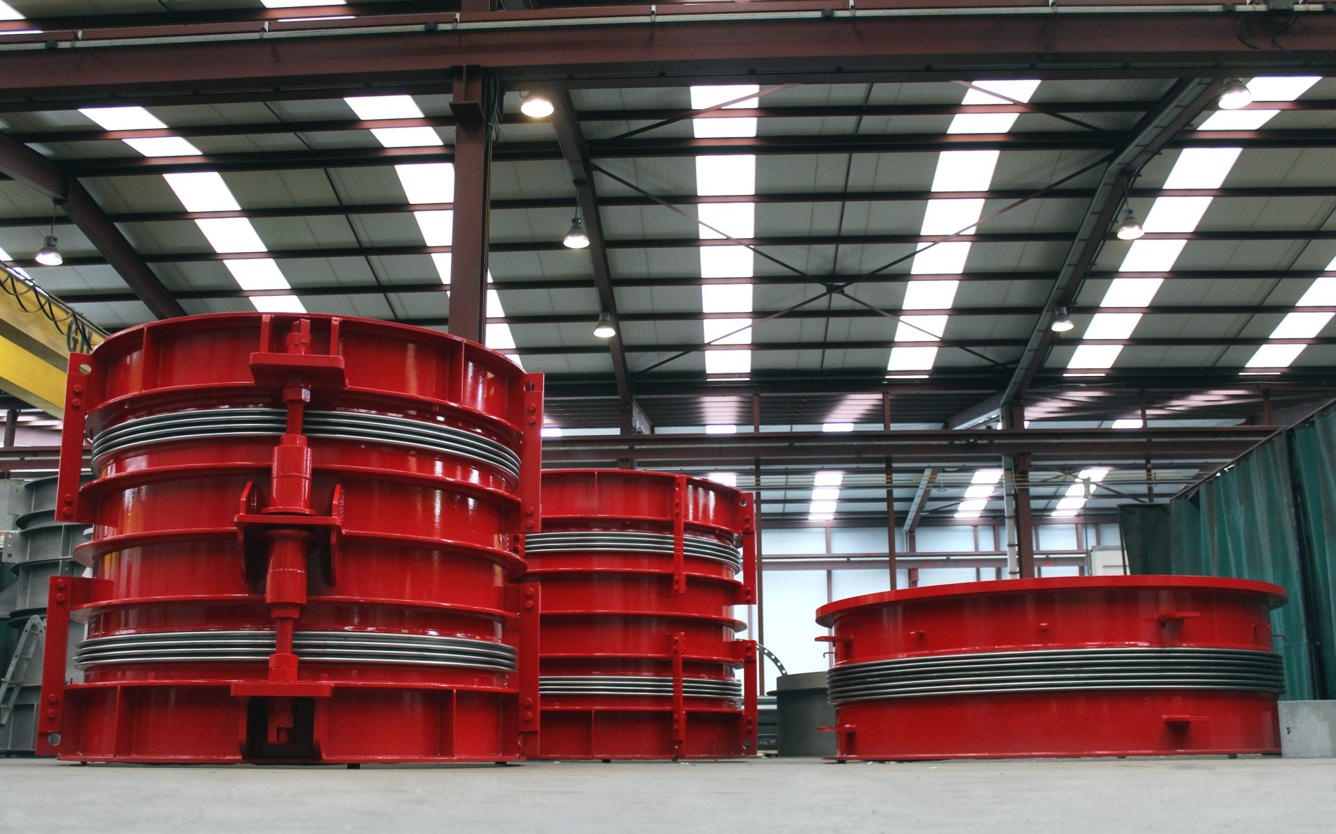 Delivery of Expansion Joints for Biomass Power Plant in Southwestern Europe