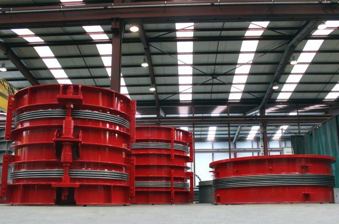 Entrega de juntas de expansión para central de biomasa en el suroeste de Europa
