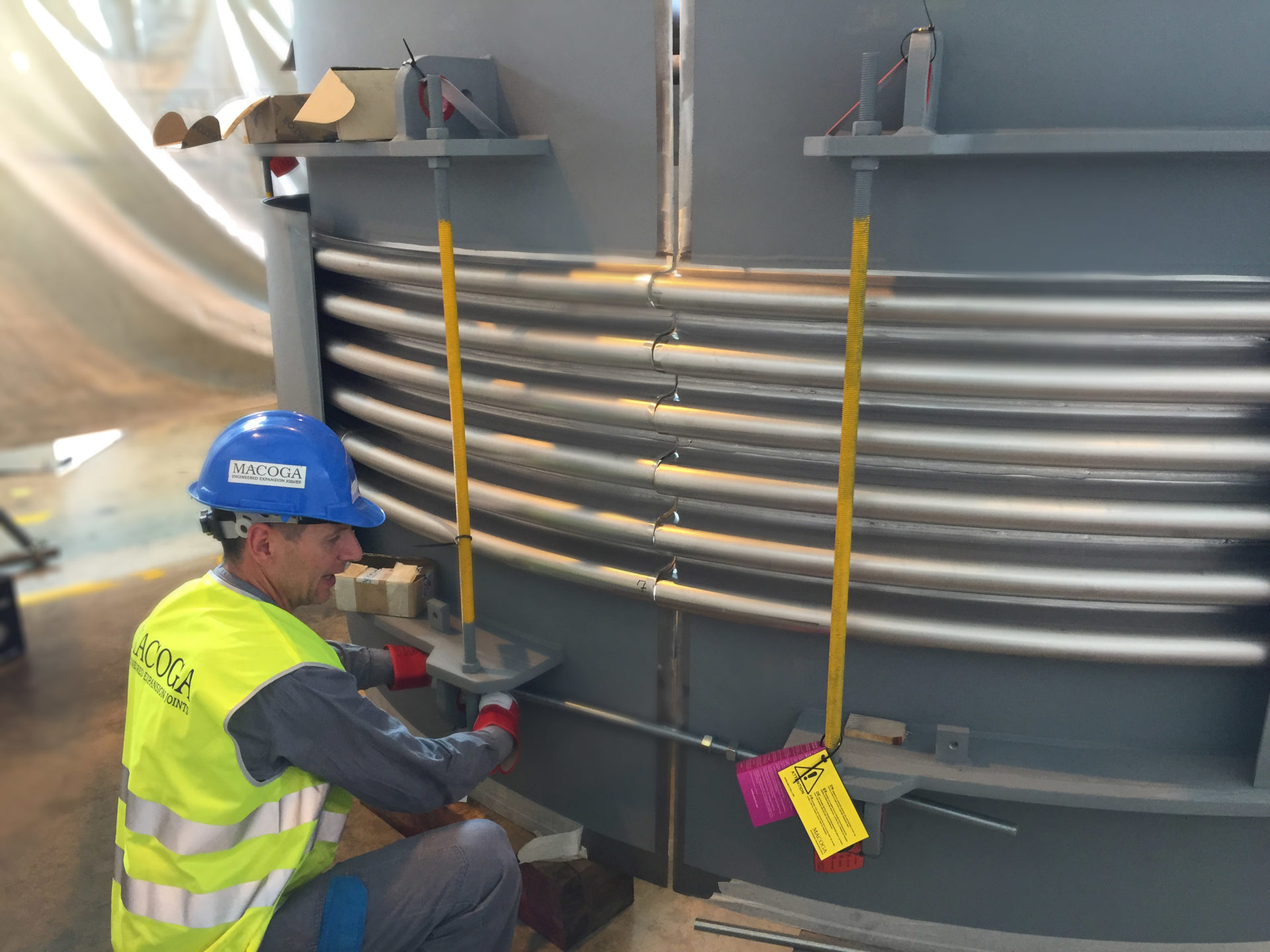 On-Site assembly works in Trinidad & Tobago