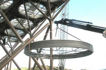 MUX turbine to condenser DN 7000 – Grecia