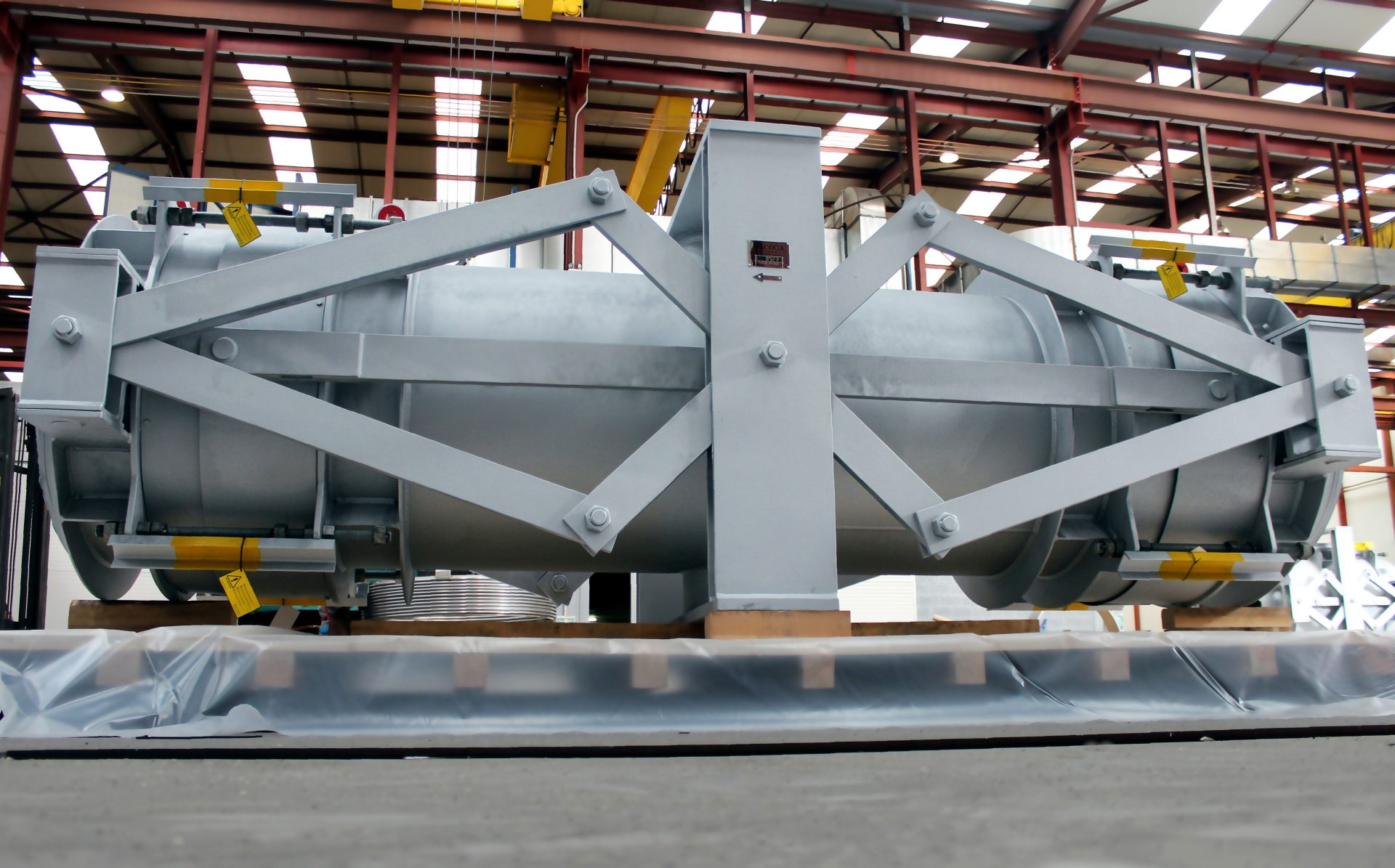 FCC Expansion Joint for Scandinavian Refinery