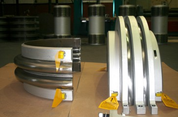 Reinforced Clam Shell Expansion Joints