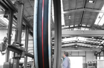 MACOGA supplied MAC-F Rubber Expansion Joint DN 4000