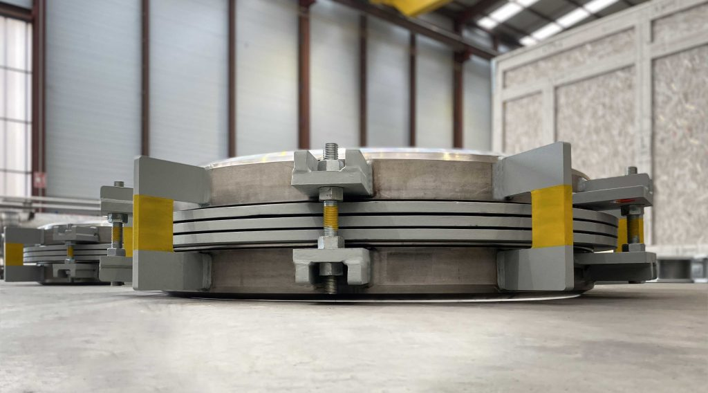 High Pressure Expansion Joints for Fertilizers producer in North Africa