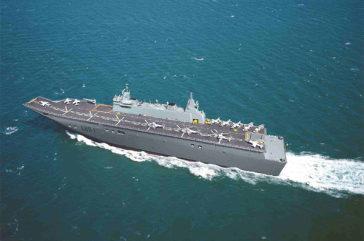 April 2011 - Expansion Joints for Landing Helicopter Docks (LHD)