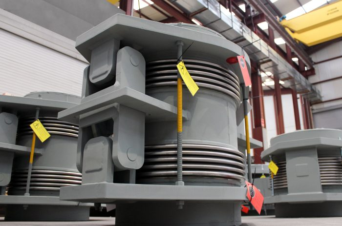 Expansion Joints for Waste Incineration Plant (KVA) in Switzerland