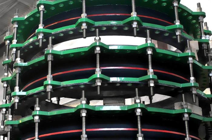Large size Rubber Expansion joints for Power Plant in North Africa