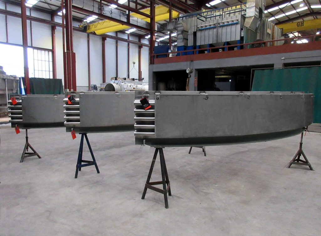 7 meter (23 ft) diameter Clamshell Expansion Joint for Power Generating facility in Connecticut, USA