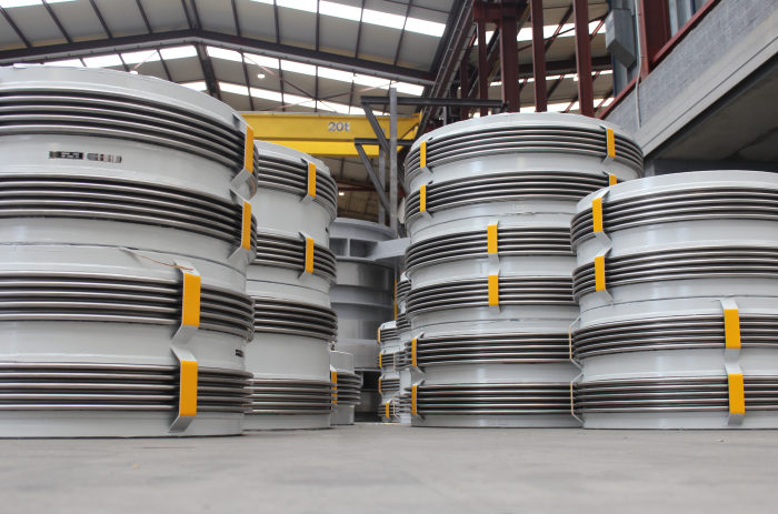 Expansion Joints for a Steel Plant Gas Cleaning & Recovery Facility in Russia