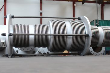Expansion Joints for a MIDREX process Briquetted Iron company in South America