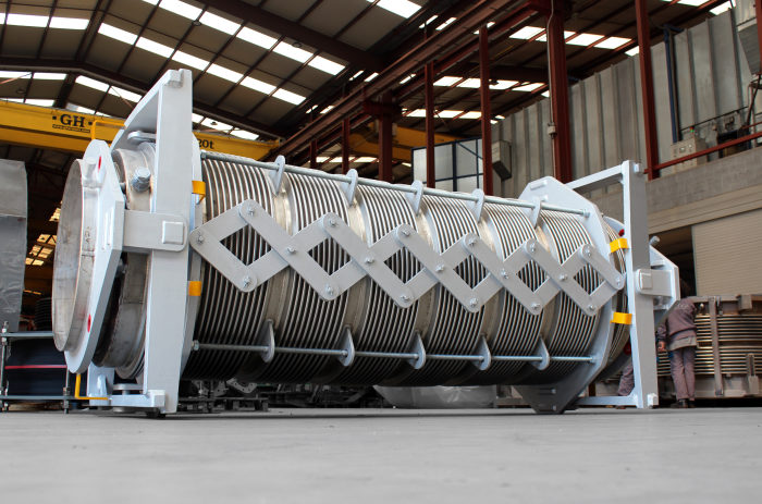 High Temperature Jacketed + Pantographic Expansion Joint for the world's leading steel and mining company