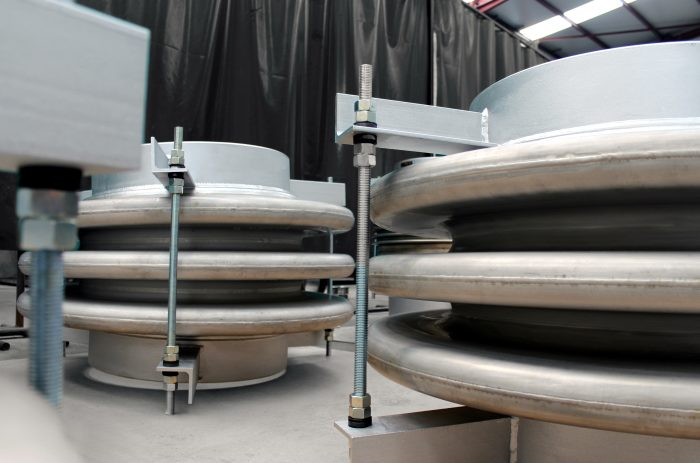 Stainless Steel Lens Type Expansion Joints for customer in Germany