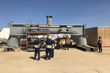 FCC Expansion Joints On-Site Service for Petroperu Refinery