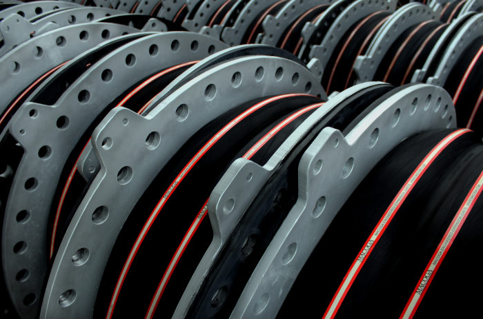 High Pressure MAC-F2 Rubber Expansion Joints for Rabigh–Jeddah/Makkah Water Transmission System in Saudi Arabia