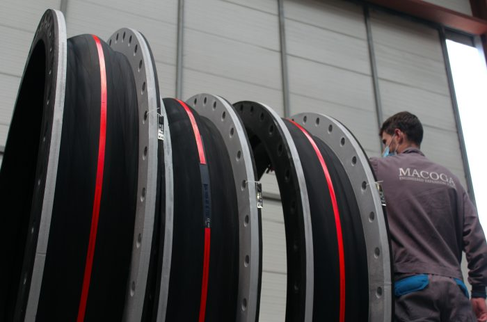 Large diameter Rubber Expansion Joints for Power Generating Facility in North East Europe