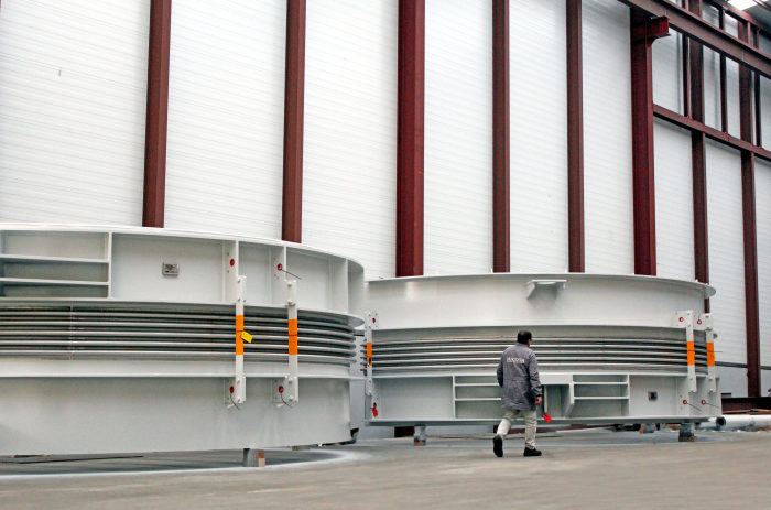 Huge size Universal Tied and Dog Bone Expansion Joints for Power Plant in the Middle East