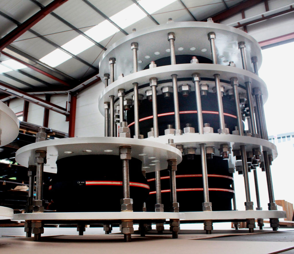 High Tech Rubber Expansion Joints for the Rabigh III Independent Water Project in Saudi Arabia, one of the world's largest SWRO Desalination Projects
