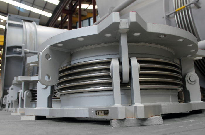 Custom made Expansion Joints for Steel Plant in Europe