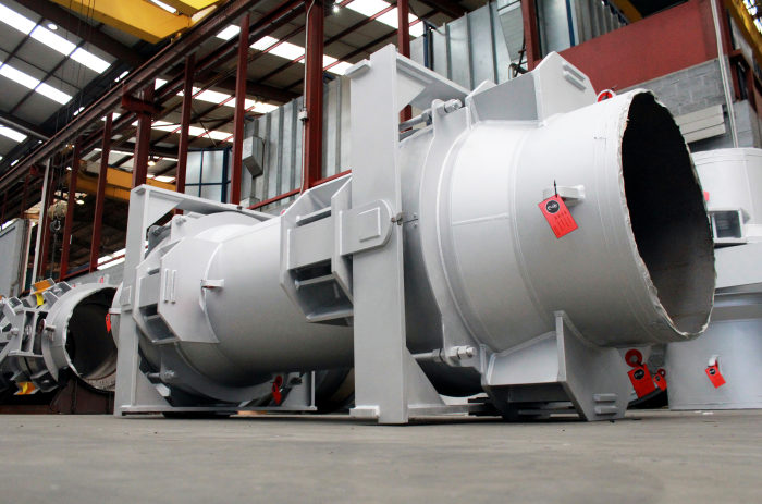 FCC Expansion Joints for South European Refinery as per ExxonMobil specifications