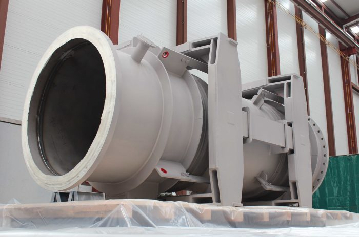 Double Gimbal and Pressure Balanced Expansion Joints for Europe's leading steel producer