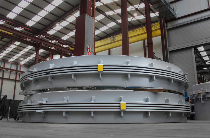 High Pressure Expansion Joints for ADNOC Waste Heat Recovery Project Steam Transformers