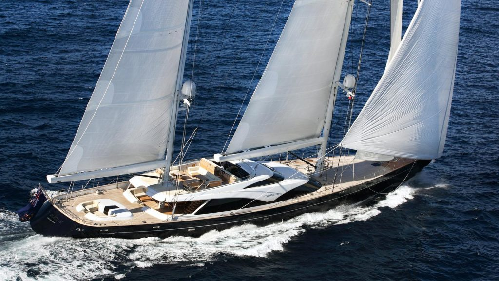 Lloyd's Type Approved Expansion Joints for Luxury Sail Yatch Twizzle