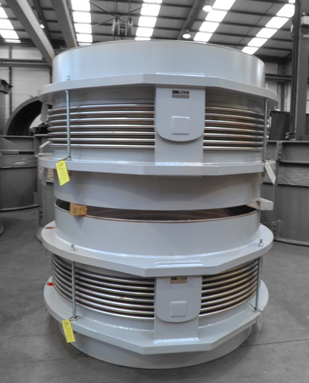 MACOGA Expansion Joints for Fertilizers Complex in North Africa