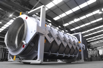 Jacketed and Pantographic Expansion Joint for steel plant in Europe