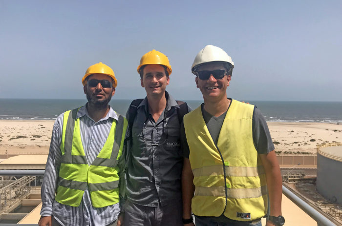 MACOGA On-Site team provides supervising services in Egypt