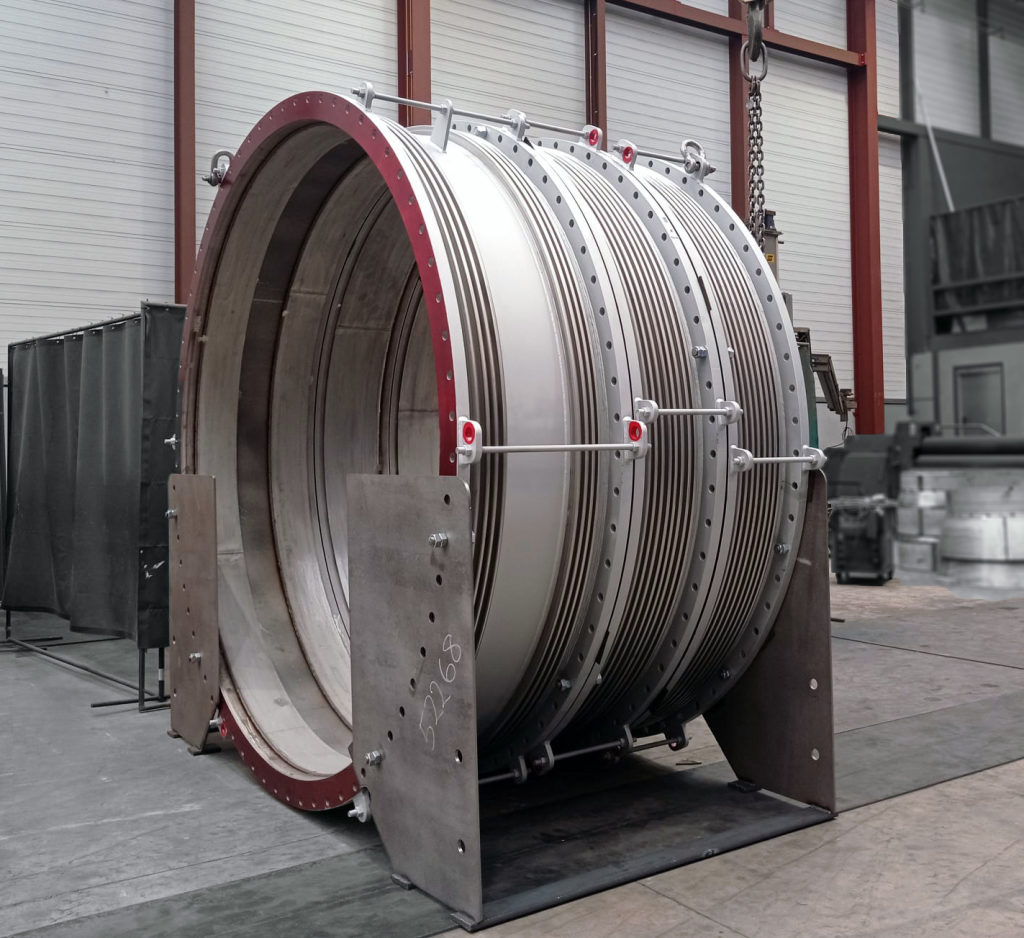 Fabric and Metal Expansion Joints for one of the Europe's largest steel producers