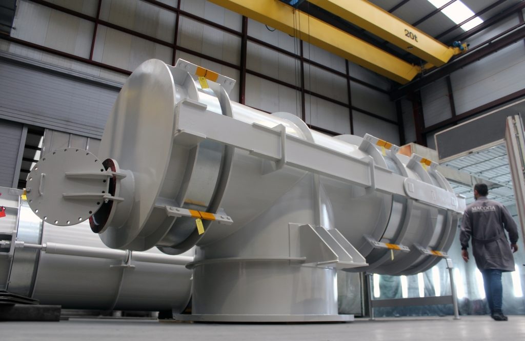 Expansion Joints for Biomass Power Plant in Portugal