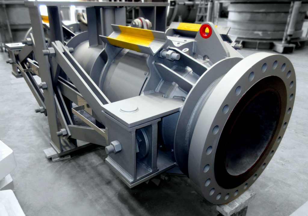 FCC Spent Catalyst Standpipe Expansion Joint for US Refinery