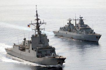 Compensadores para motores diesel de buques militares
