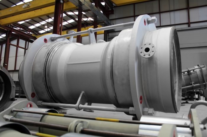 FCC Spent Catalyst Expansion Joint Reactor for Refinery in Scandinavia