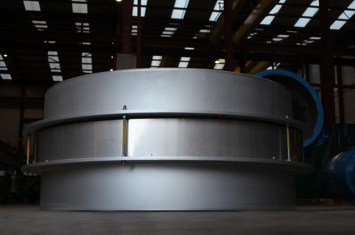ASME U Stamped Expansion Joint for a Chemical Plant in the US.