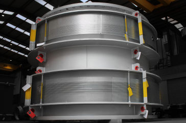 Refractory Lined Expansion Joint for Severestal Cherepovets Steel Mill, Russia