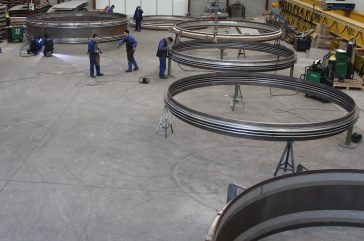 Jan. 2012 - Successful manufacturing of 12 Expansion Joints MWA & MWD DN 5400 + DN 4600 + 4900 for International Power Projects.