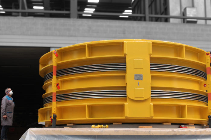 Large Turbine to Condenser Expansion Joint and Hot Box for a new combined-cycle power plant in Landivisiau in France