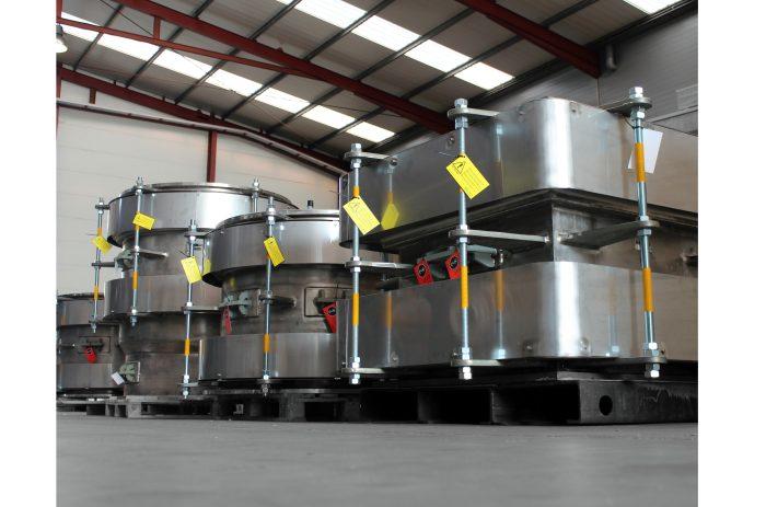Compensadores de Dilatación de alta temperatura (+1000 °C) para instalaciones de procesamiento de oro