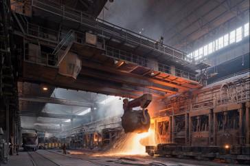 Expansion Joints for Zaporizhstal Steel Works, Ukraine