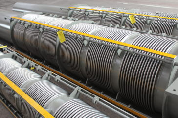 Expansion Joints for the drainage water pipelines of the Vidin-Calafat Danube Bridge