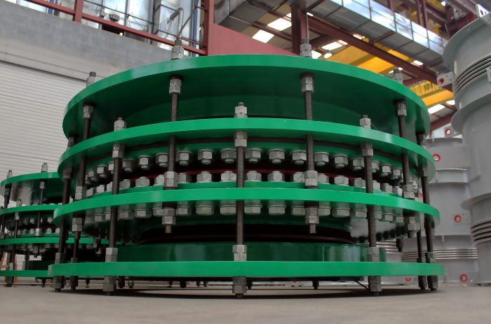 High Pressure In-Line Rubber Pressure Balanced Expansion Joints for Refinery in South America